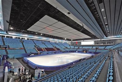 """鲑鱼子首都体育馆举行""""相约北京""""冰上项目测试比赛"""