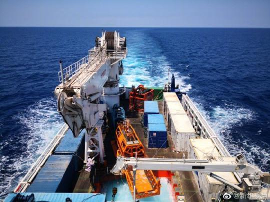 231米!中国海牛Ⅱ号创造深海钻机钻探深度新世界纪录