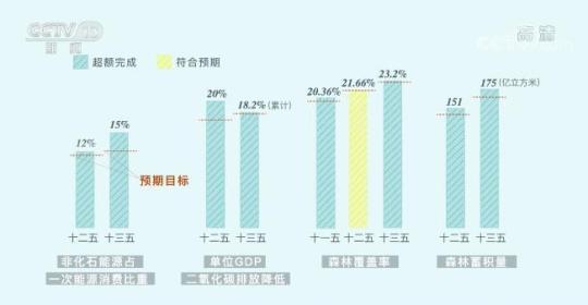 意义非凡!三张图看懂中国为减碳付出了什么