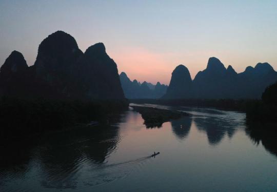 如画漓江成中国生态文明建设缩影