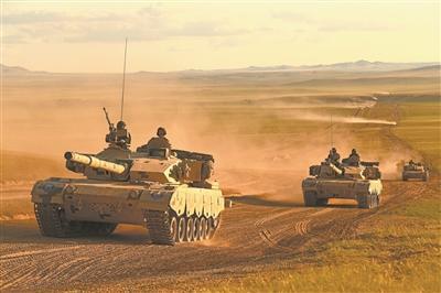 贡米不雅照第81集团军某旅装步七连连长李盛山:我在朱日和当蓝军