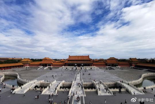 故宫从6月26日到7月1日关闭