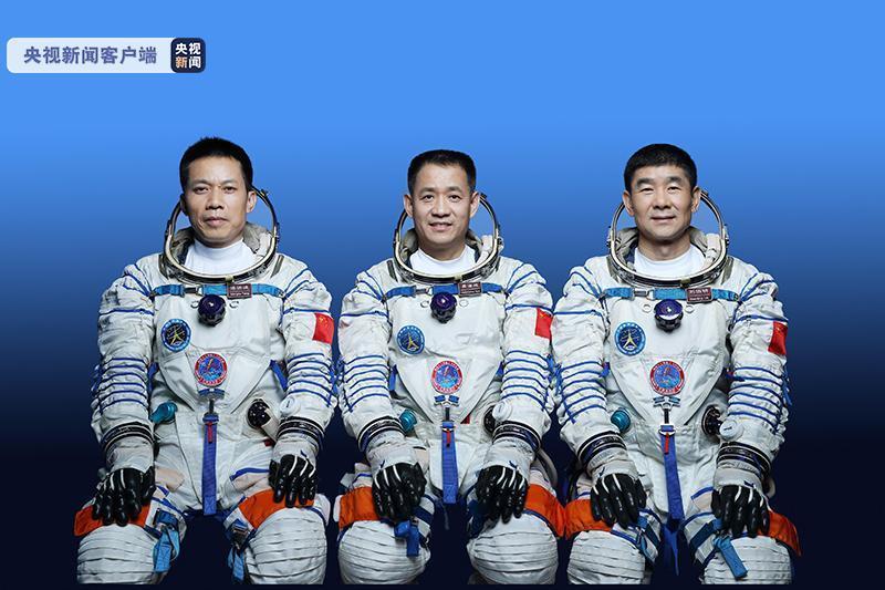 神舟十二号3名航天员官宣 将在轨工作生活3个月完成四项任务