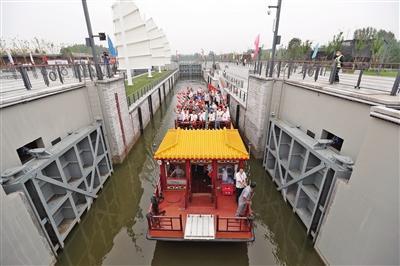 京杭大运河北京段全线旅游通航 明年6月有望乘船至河北