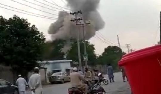 巴基斯坦拉瓦尔品第市一家工场产生爆炸 造成6人灭亡多人受伤