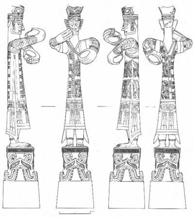 """考古绘图师:为遗迹和文物绘制""""标准照"""""""