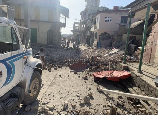 海地發生7級以上地震 周邊國家加強海嘯監測