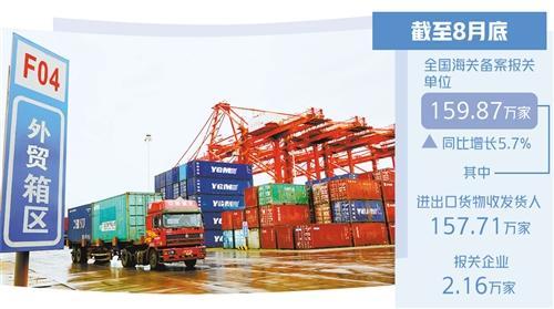 """改革让外贸企业""""轻装快行"""""""