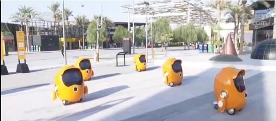 中国制造智能机器人亮相世博会 向全世界展现中国人工智能领域成果