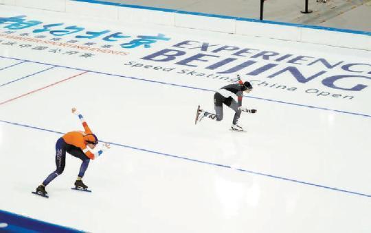 北京冬奥会做最后冲刺准备
