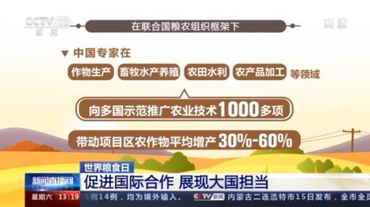 展现大国担当 中国通过多种途径帮助发展中国家提高农业生产力