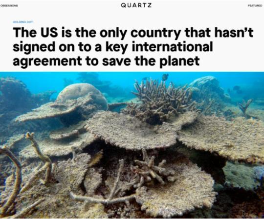 环球深观察丨看美国如何破坏全球环境治理:近30年不批《生物多样性公约》为哪般