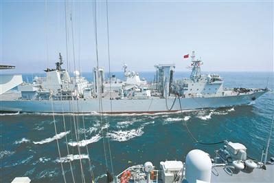 北部战区海军某舰艇训练中心海上训练掠影