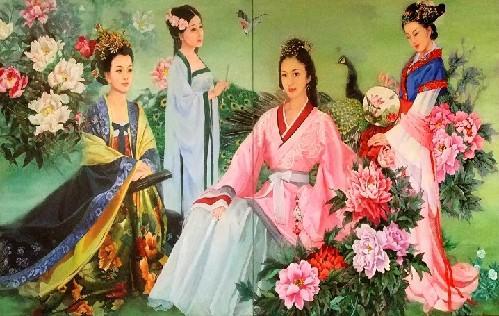 女油画家全新视角诠释中国古代四大才女(图)-