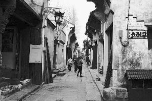 寻访南京高淳固城湖水下遗址:或埋藏一条古街图片