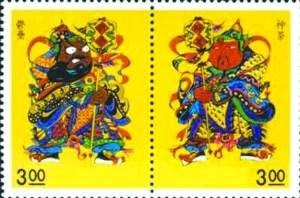 门神所画人像都有哪些人物包括秦琼尉迟恭成庆