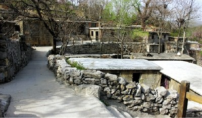 寺西村老家的风景