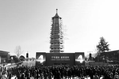 南京大报恩寺遗址公园开园王健林捐10亿推动重建
