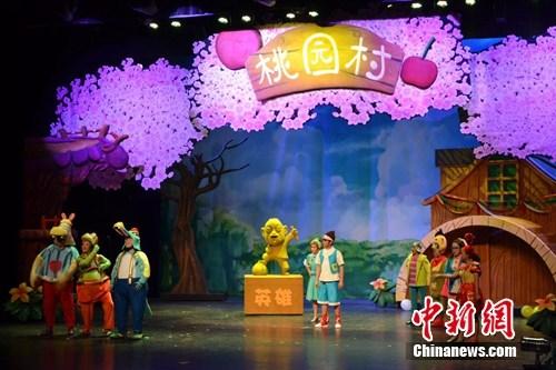儿童剧《大吉成长记》演出寓教于乐传递安全知识
