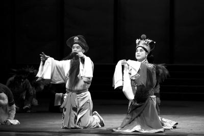 新编历史京剧《正考父》首演杜镇杰展示38句唱段
