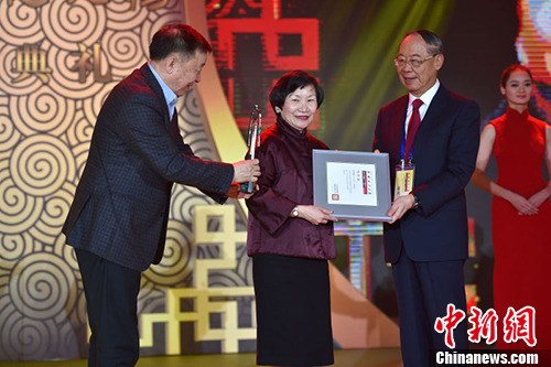 台北故宫博物院前院长:要把中华文化内化成青少年的内在知识