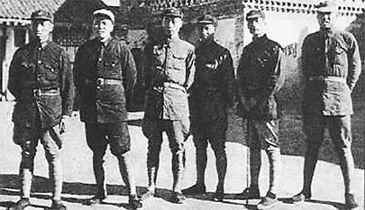1936年紅軍巧破閻錫山河防對方總兵力4個獨立旅