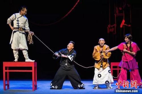 《三岔口2017》希腊演出告捷当代京剧登陆戏剧古国