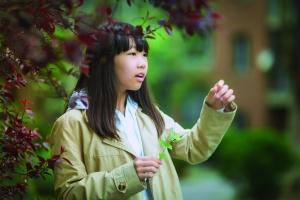 蔡亦青,与小说相伴的童年