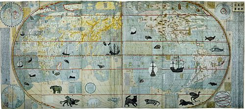 中国编绘的世界地图