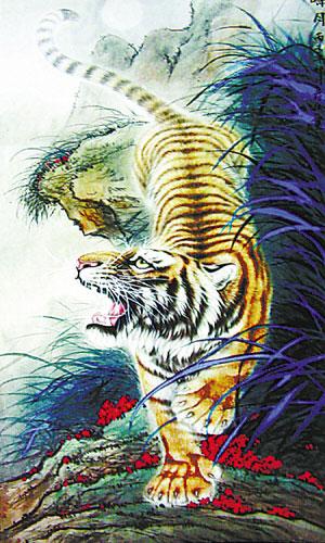 以属虎之年为吉利之年