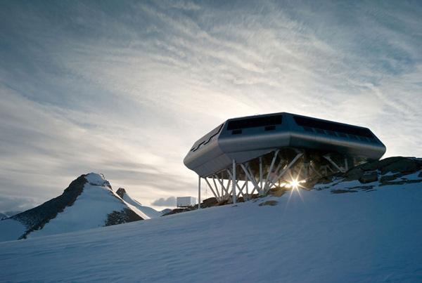 世界各国南极考察站图片