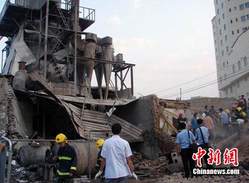 新疆喀什发生一起锅炉爆炸事故致4死5伤