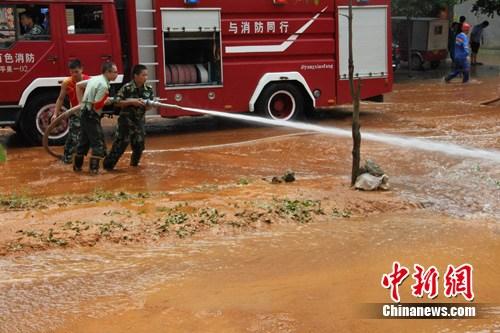 广西平果发生泥浆泄漏事故官方称系小地震引发