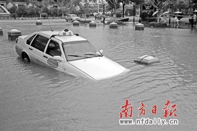 台风 菲特 致多地内涝 宁波余姚城区70 以上受淹 高清图片