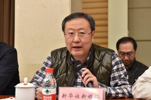 新华社新媒体中心常务副主任、总编辑 陈凯星