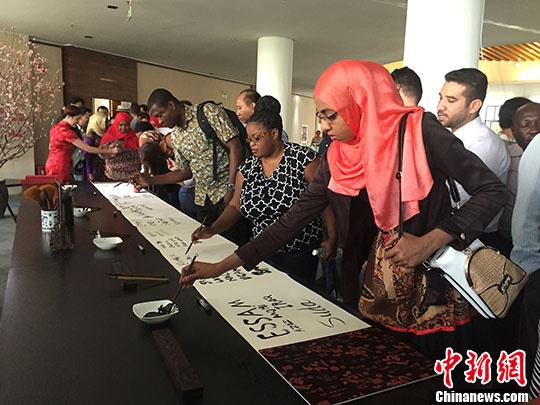 """15个发展中国家官员参访广西北海畅谈""""一带一路""""愿景"""