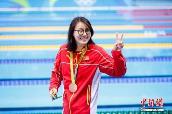 """""""表情包""""傅园慧启蒙教练:她可以游得更快"""