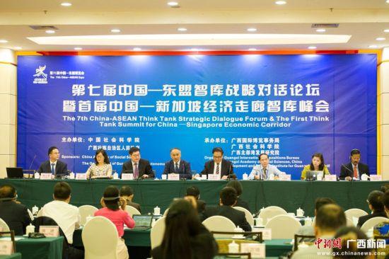 第七届中国-东盟智库战略对话论坛在南宁开幕