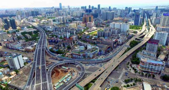 海口海秀快速路7月30日有望能实现功能性通车