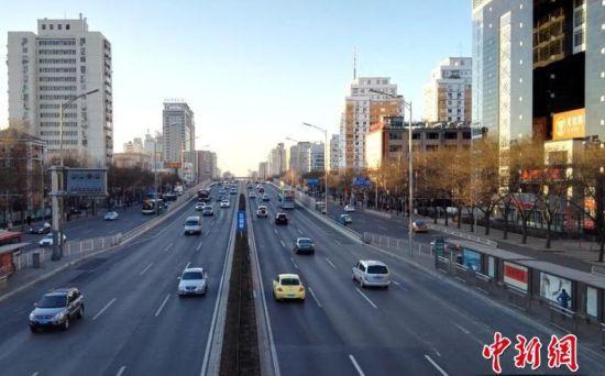 春节长假后首个工作日 北京早高峰一路畅通