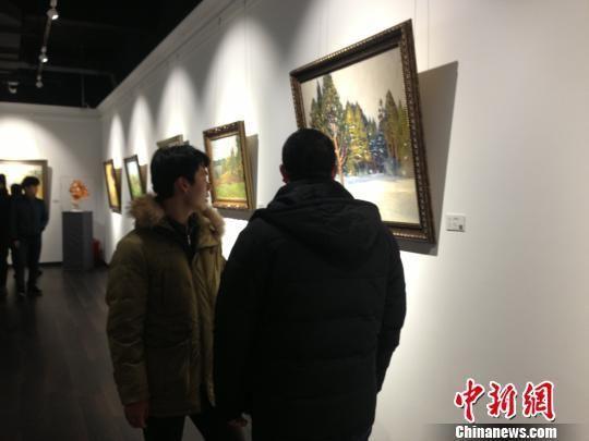 哈尔滨国际油画交易中心落成 展销各国精品油画