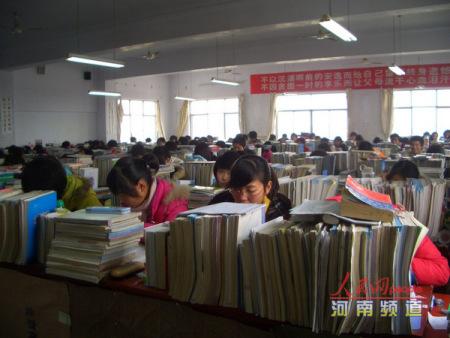 河南作文曝出人数超多v作文复读班一班256人(高中高中新年800趣事图片