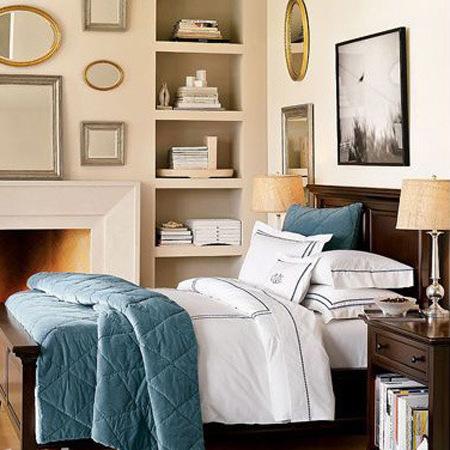北欧风格的家装以简洁著称,室内的顶,墙,地六个面,不用纹样和图案装饰