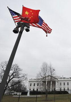 白宫最高规格欢迎胡锦涛访美