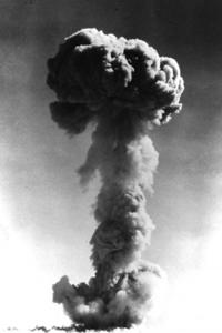 中国首颗原子弹爆炸成功