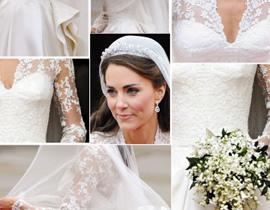 英国王妃的婚纱风靡一时