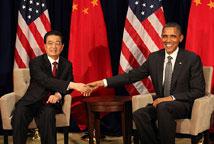 胡锦涛檀香山会见奥巴马