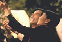 马英九和夫人周美青首度合拍竞选广告
