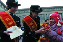 老铁警19年春节执勤,称家人已习惯