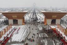 陕西法门寺新春祈福